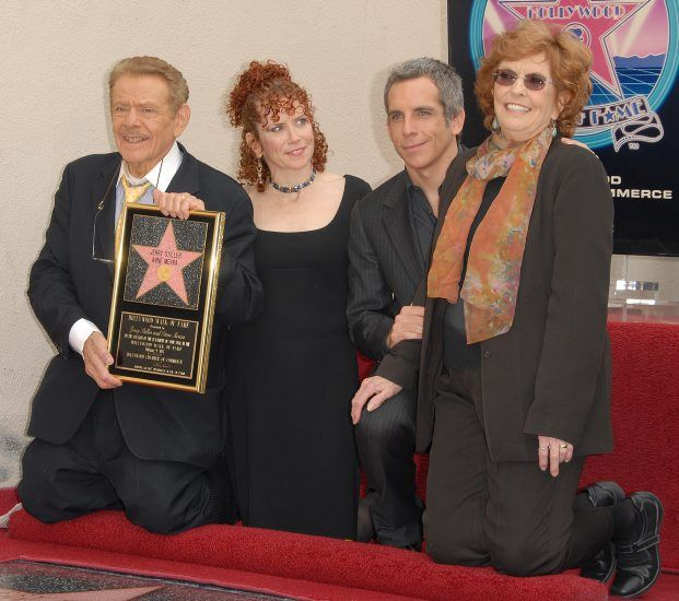 Ben Stiller With Jerry Stiller And Anne Meara Honored With A Star