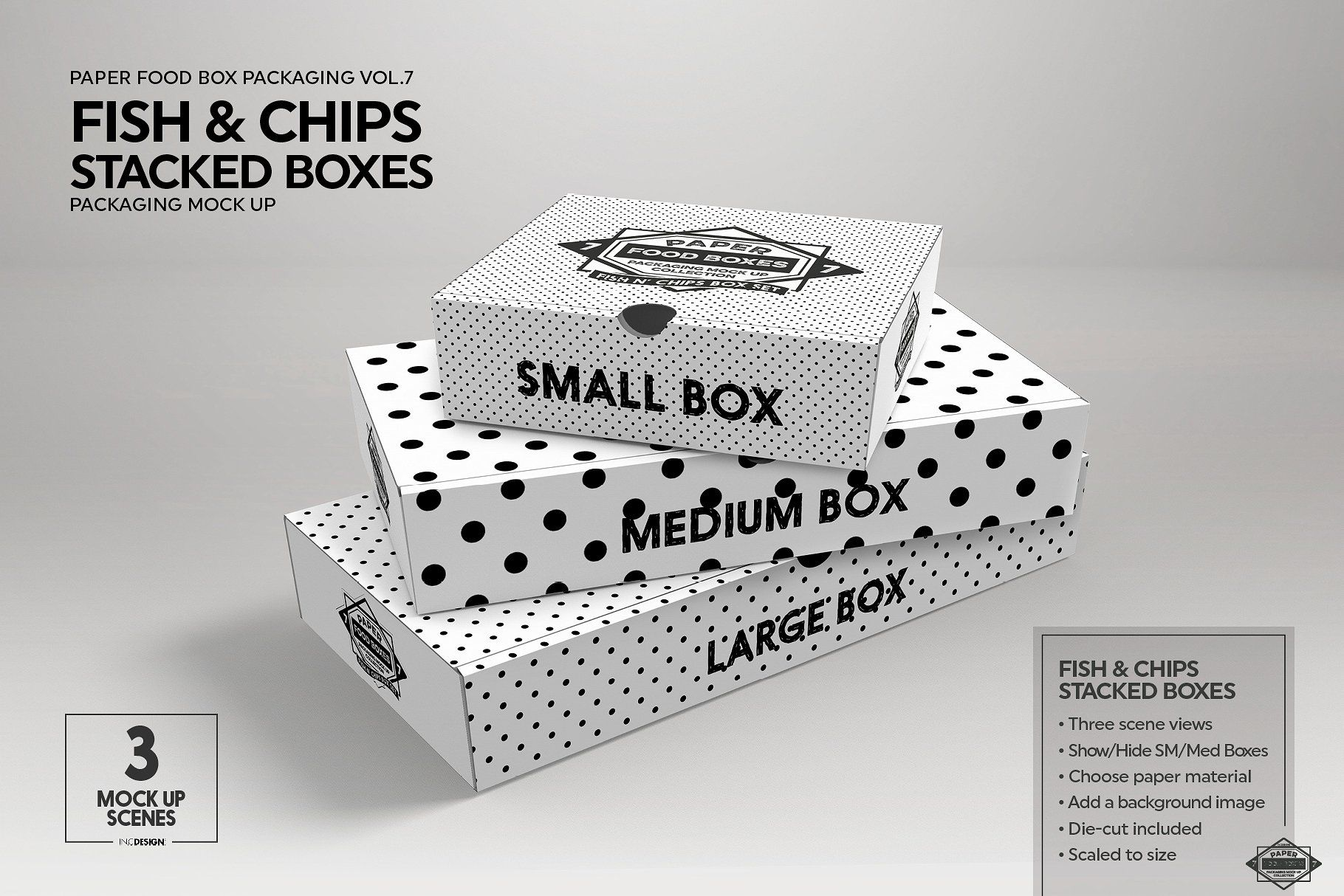 Download Vol 7 Food Box Packaging Mockups Packaging Mockup Food Box Packaging Free Packaging Mockup