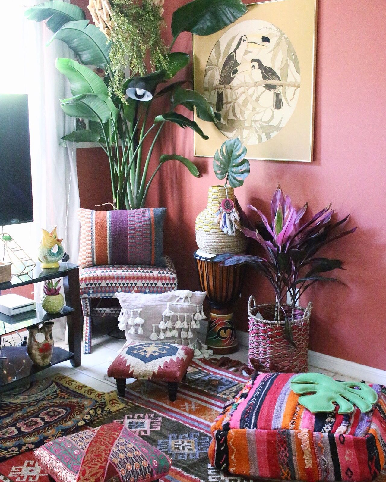 This Home May Be The Tropical Boho Bungalow Of Your Dreams Boho Bungalow Bohemian Style Decor Boho Living Room