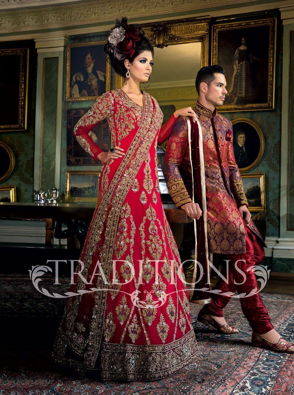 Asian Bridal Wear Range – Indian and Pakistani Dresses & Lehenga ...