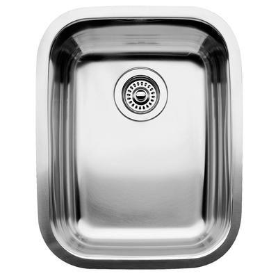 Blanco évier de cuisine en acier inoxydable 1 cuve montage sous plan