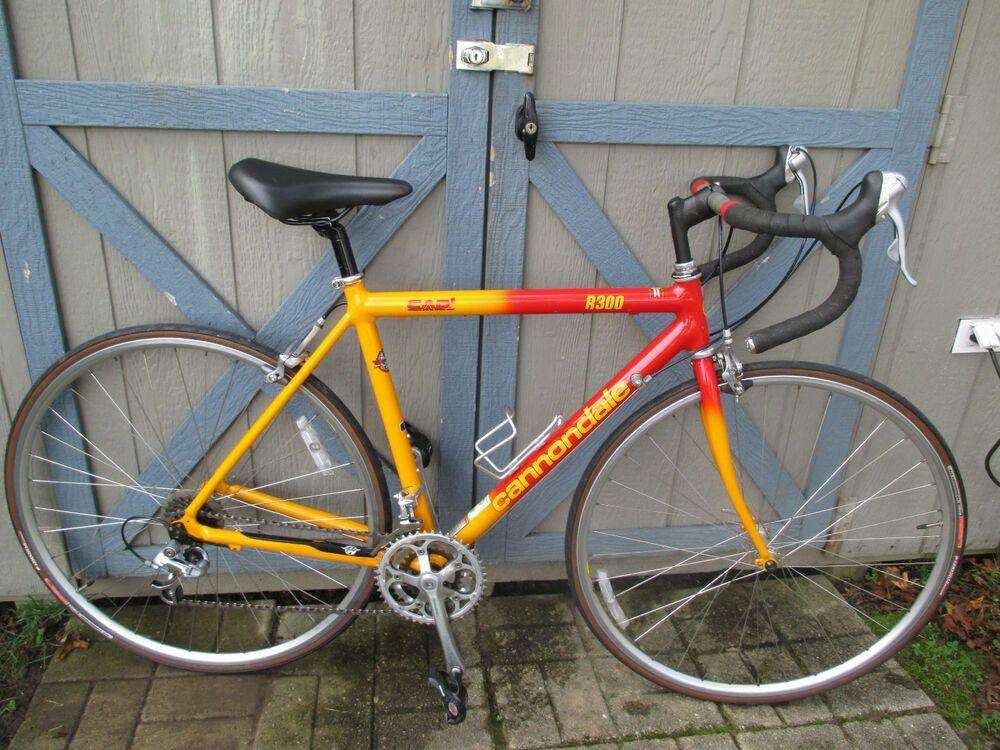 Vintage Cannondale R300 Road Touring Bike 700c 50 Cm Cad2 21 Speed Bicycle Touring Bike Speed Bicycle Bicycle