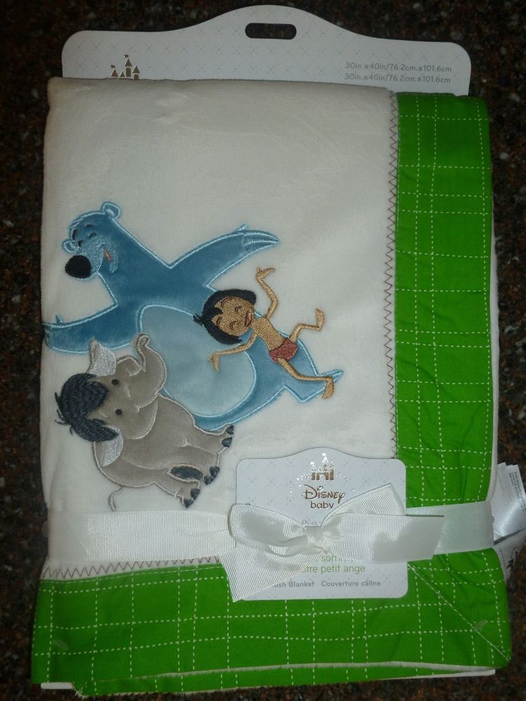 Jungle Book Fleece Baby Blanket