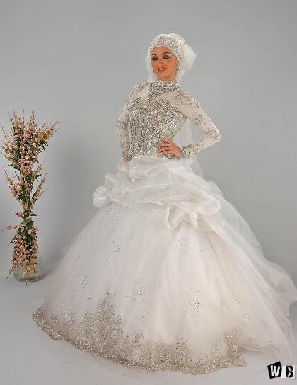 صور فساتين افراح فساتين افراح للمحجبات فساتين زفاف 2014 Wedding Dresses Victorian Dress Dresses