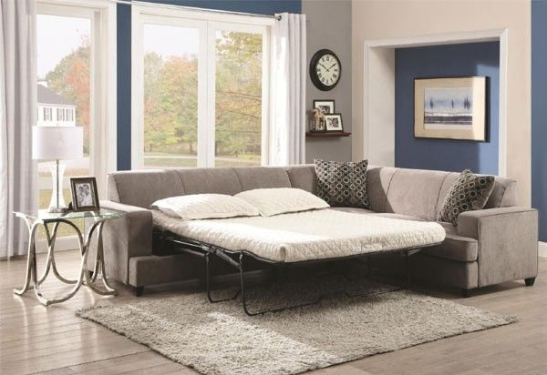 Coaster Furniture Tess Queen Sleeper Sectional 500727 With