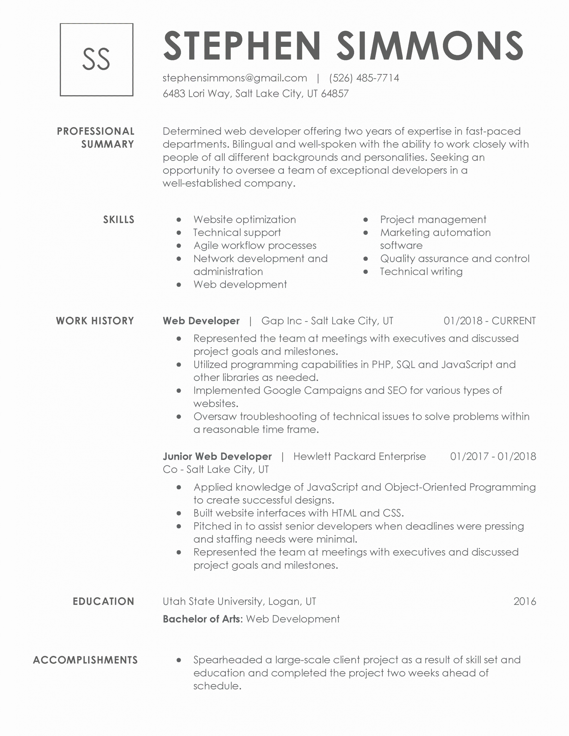 resume title examples for any job unique 30 resume