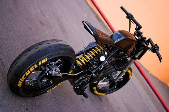 Pin von JackSeven Rat Bike Customs M auf Scrambler
