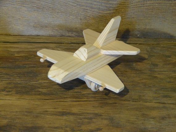 Wooden toys jet plane space ship wood toy spaceship eco friendly ...