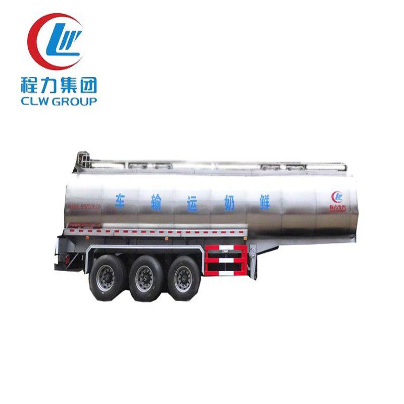 3 Axles 40 Cbm Milk Tank Trailers Trailers For Sale Tanker Trucking Trailer Manufacturers