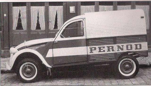 citro n 2cv pernod citroen france p 39 ups panels vans pinterest autos. Black Bedroom Furniture Sets. Home Design Ideas