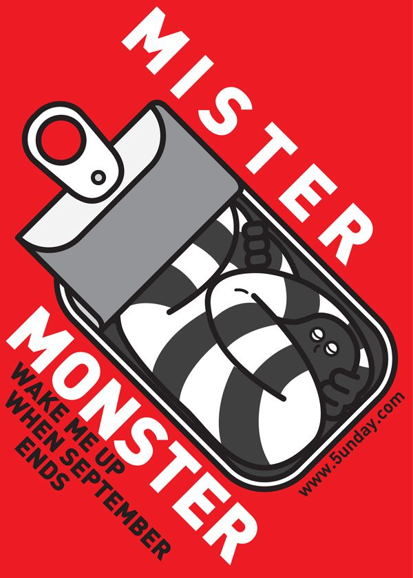 MISTER MONSTER on Behance   Graphic design posters, Creative
