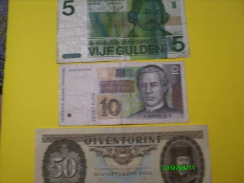 Banconote Olanda Croazia Ungheria Collezionismo Croazia