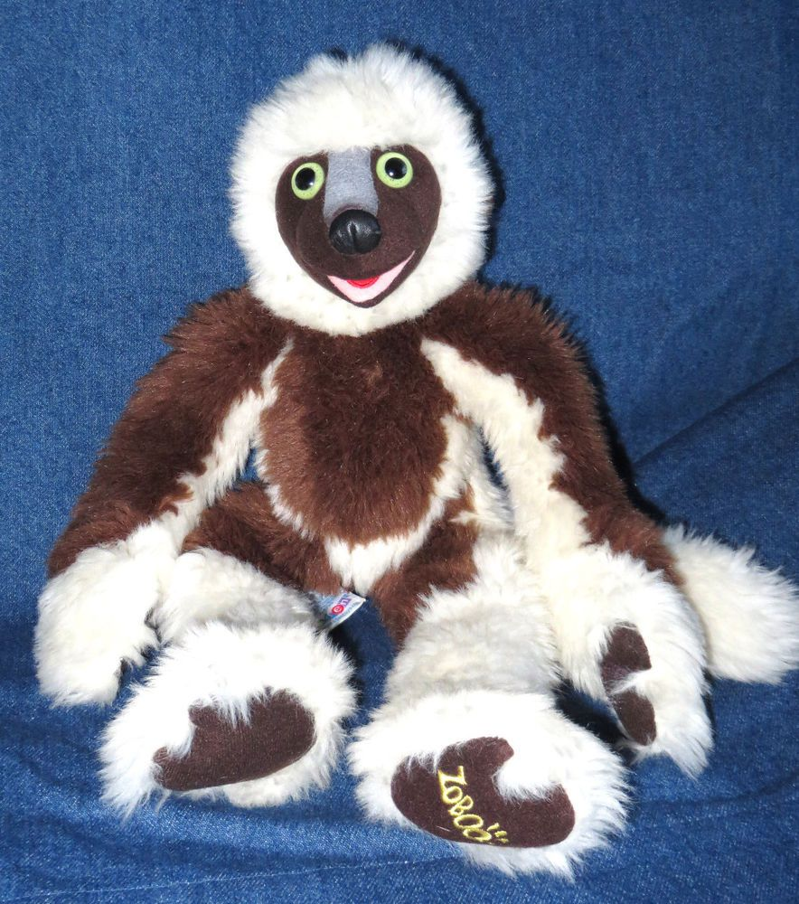 Zoboomafoo Lemur Monkey Zoboo Plush Eden 17
