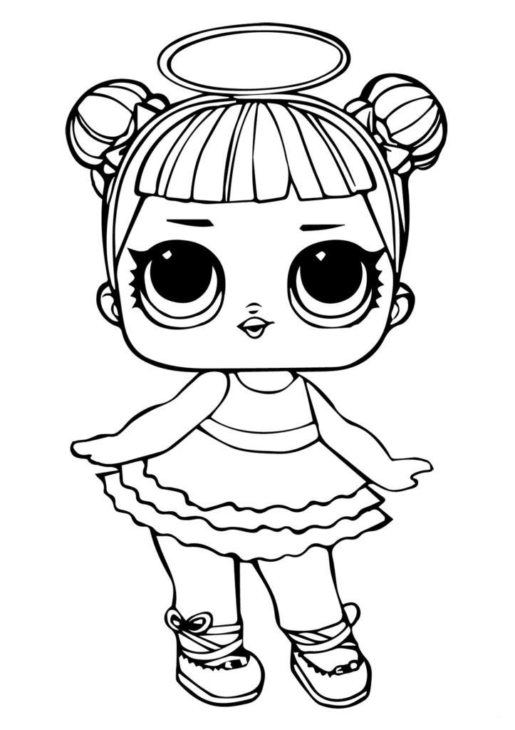 Lol Surprise Coloring Pictures Sugar Super Coloring Pages Princess Coloring Pages Lol Dolls