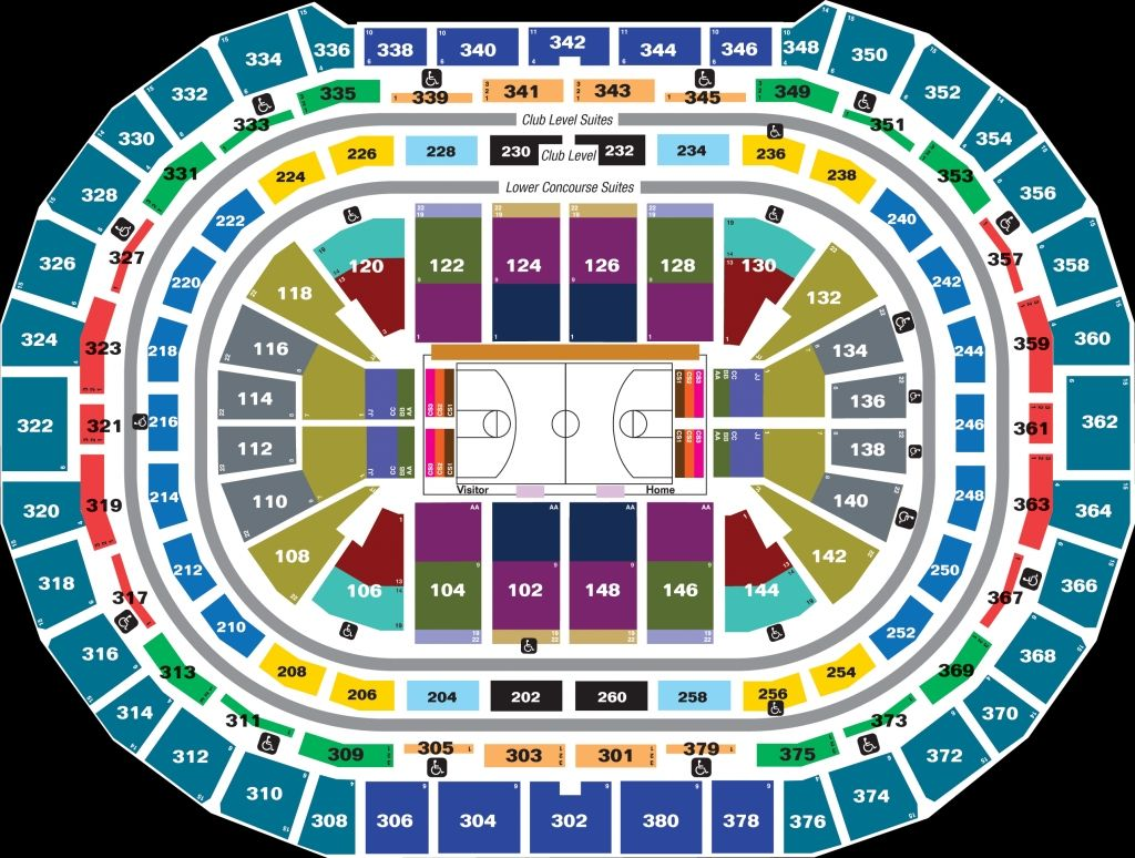 Verizon Center Seating Chart Concert Pepsi Center Chart Seating Charts