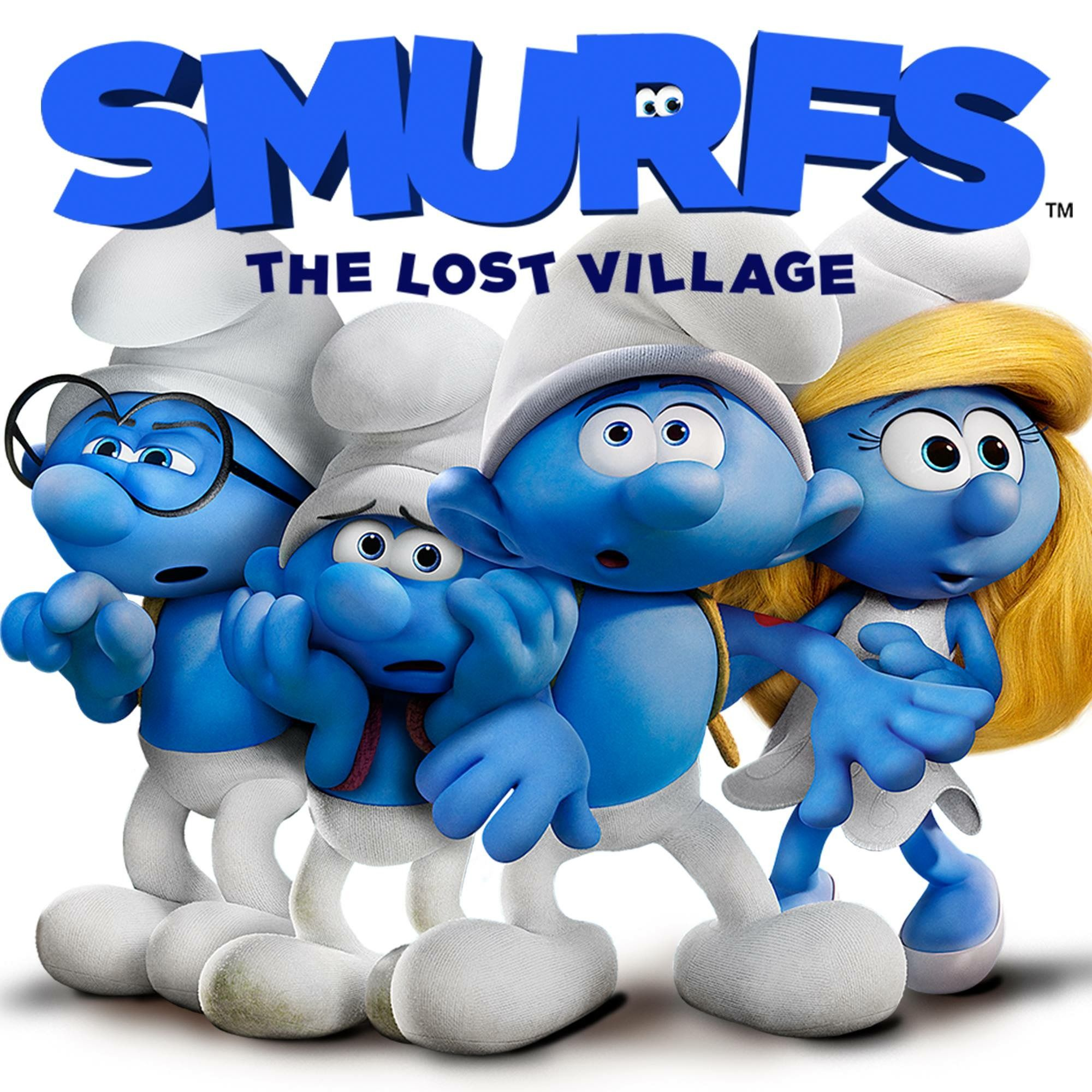 """Angry Painter Watch Online the smurfs 3 """"the lost village"""" 