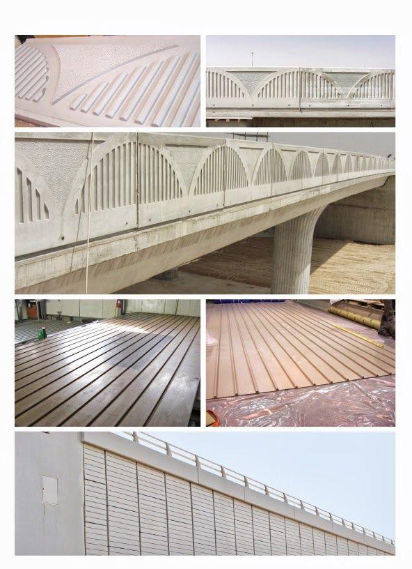 Bridge Parapet Panels/Retaining Walls