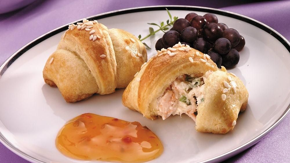 Crescents, crab and cheese create a class act appetizer!