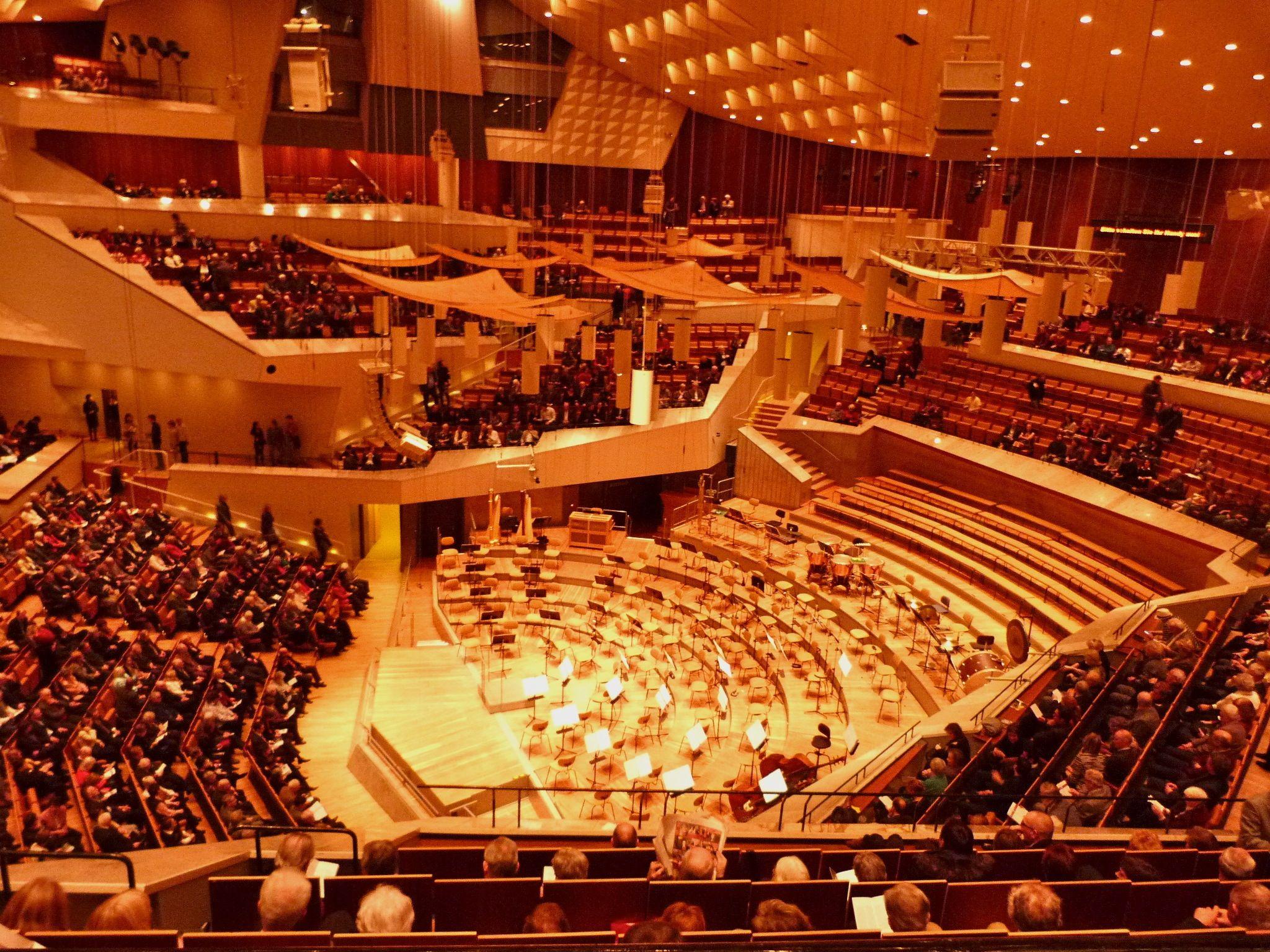 Berliner Philharmonie Concert Hall Sydney Opera House Architecture