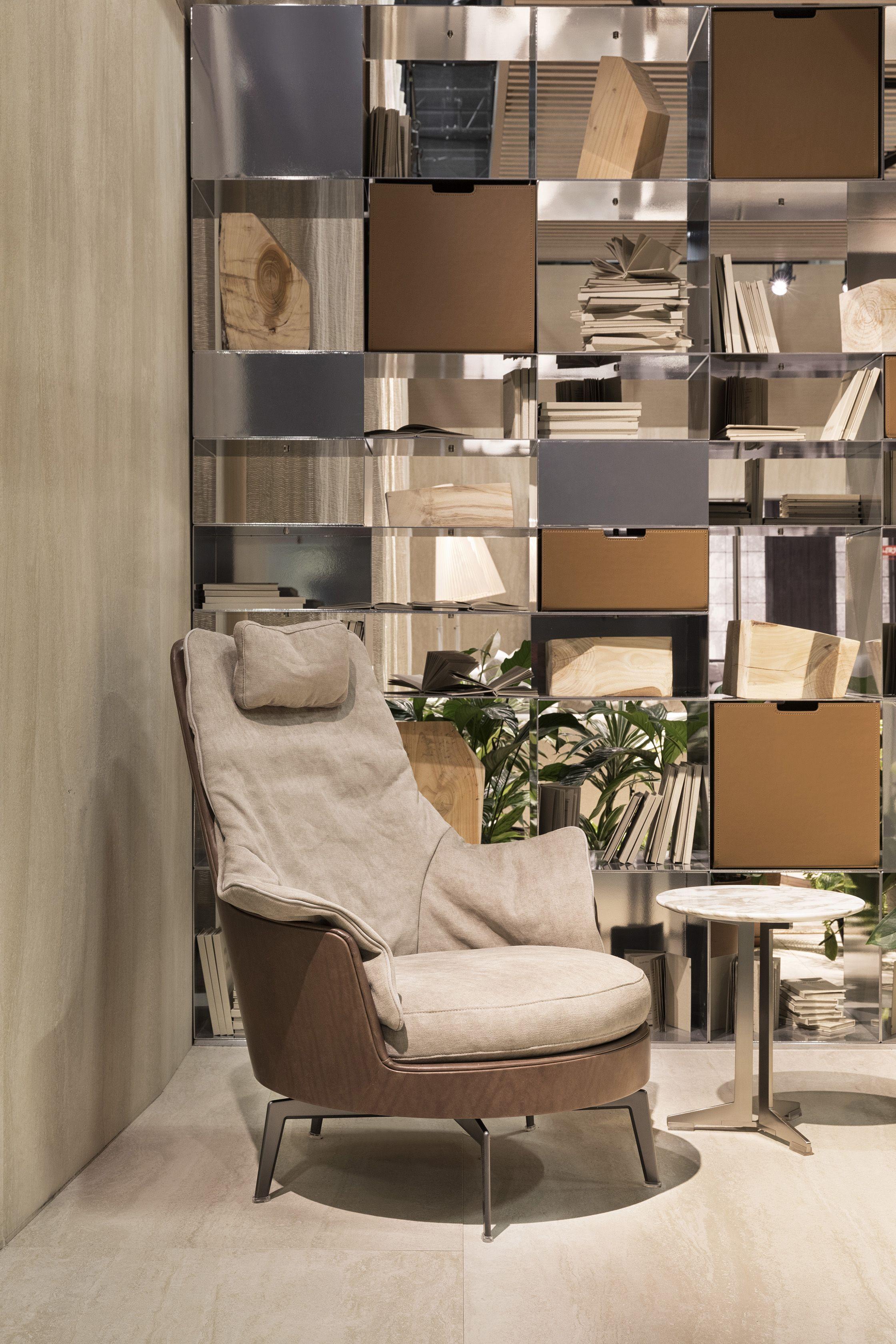 Möbeldesign Köln flexform guscio alto light armchair design antonio citterio