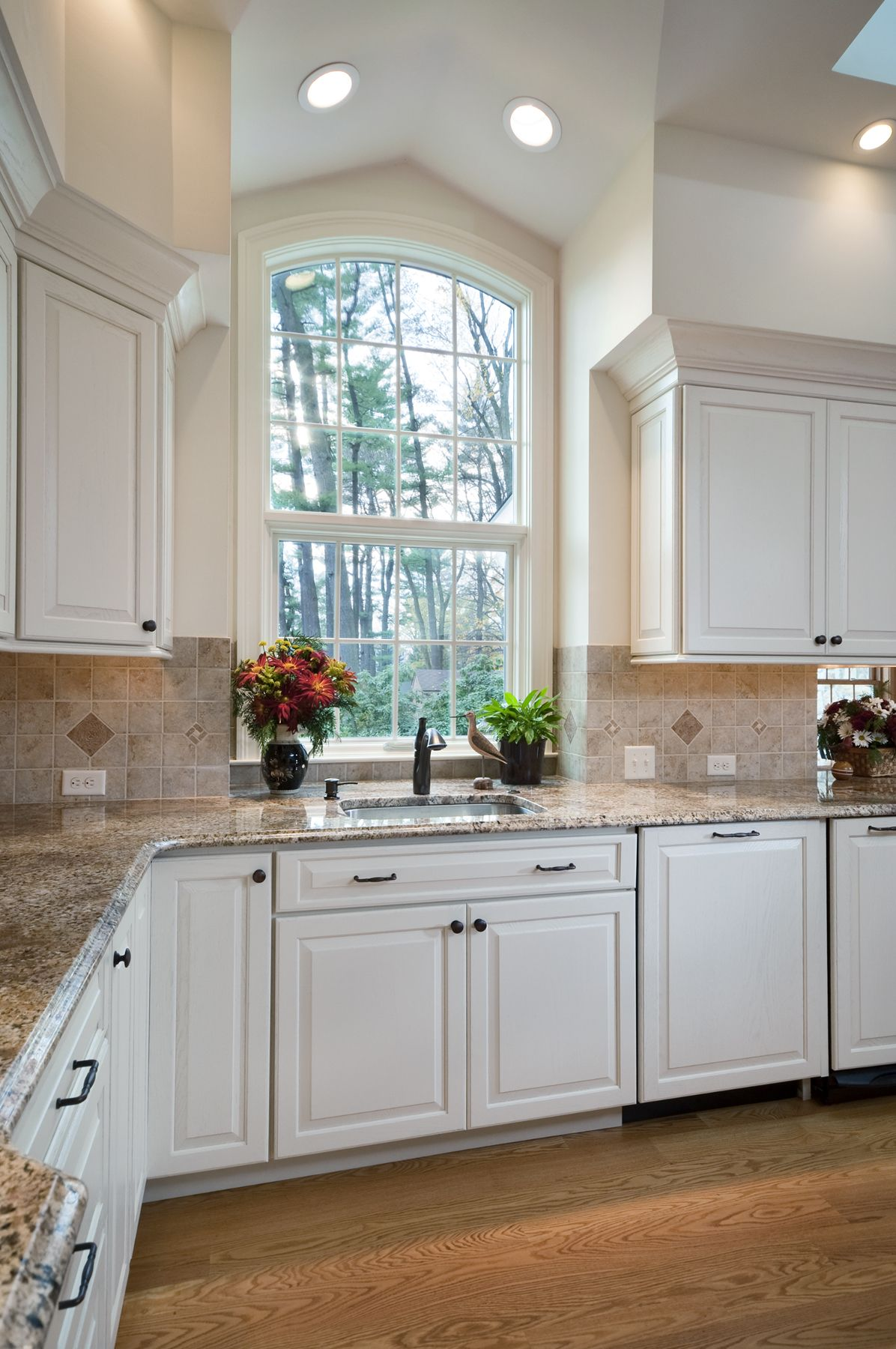Attractive Kitchen Windows | Sink And Work Area Of Renovated Kitchen By Betz Homes