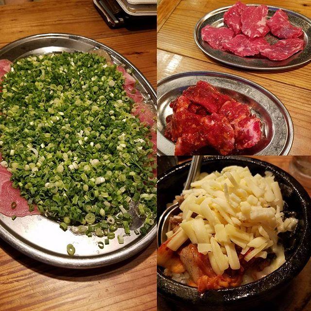 西新グルメ ぶんた 焼き肉 西新の焼き肉やさん ネギ塩ぴーたんが