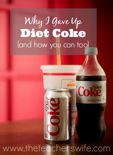 why should i give up diet coke