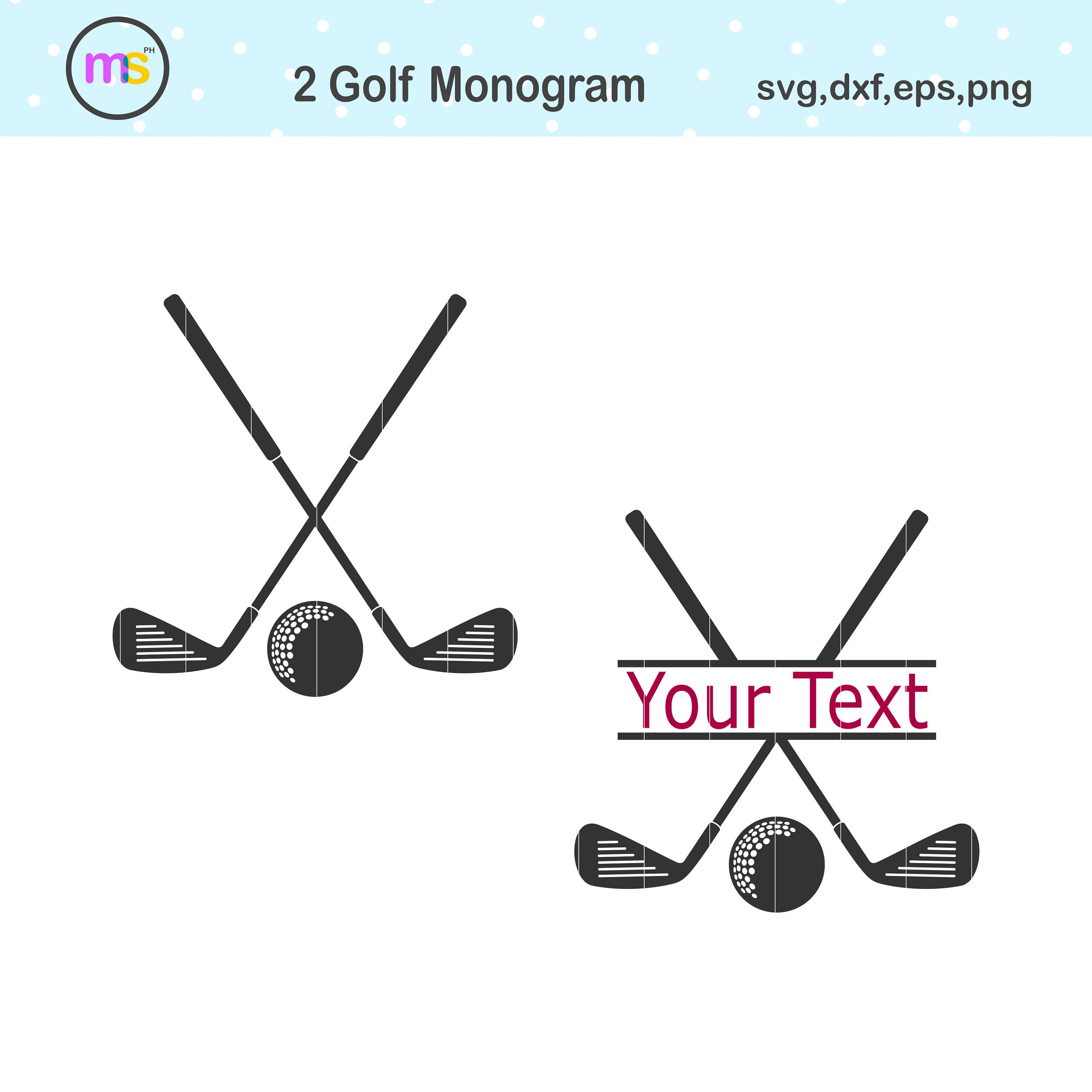 Golf Svg Golf Monogram Svg Golf Club Svg Golf Monogram Etsy In 2020 Golf Monogram Monogram Svg Golf Prints