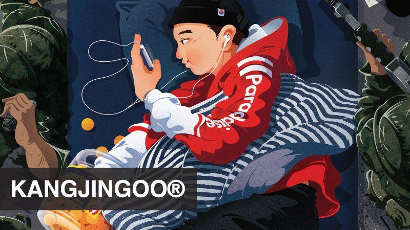 "Consulta este proyecto @Behance: ""KANGJINGOO®_강진구"" https://www.behance.net/gallery/43027817/KANGJINGOO_"