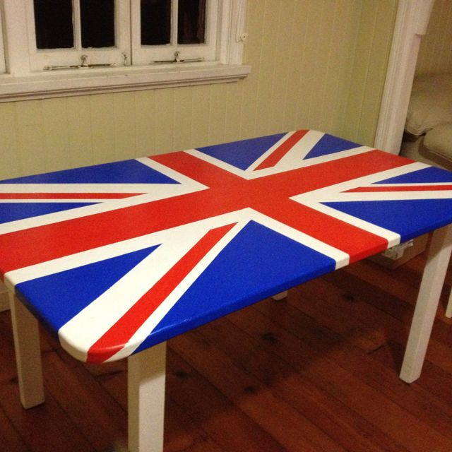 Union Jack Kitchen Dining Table Dream Home Ideas