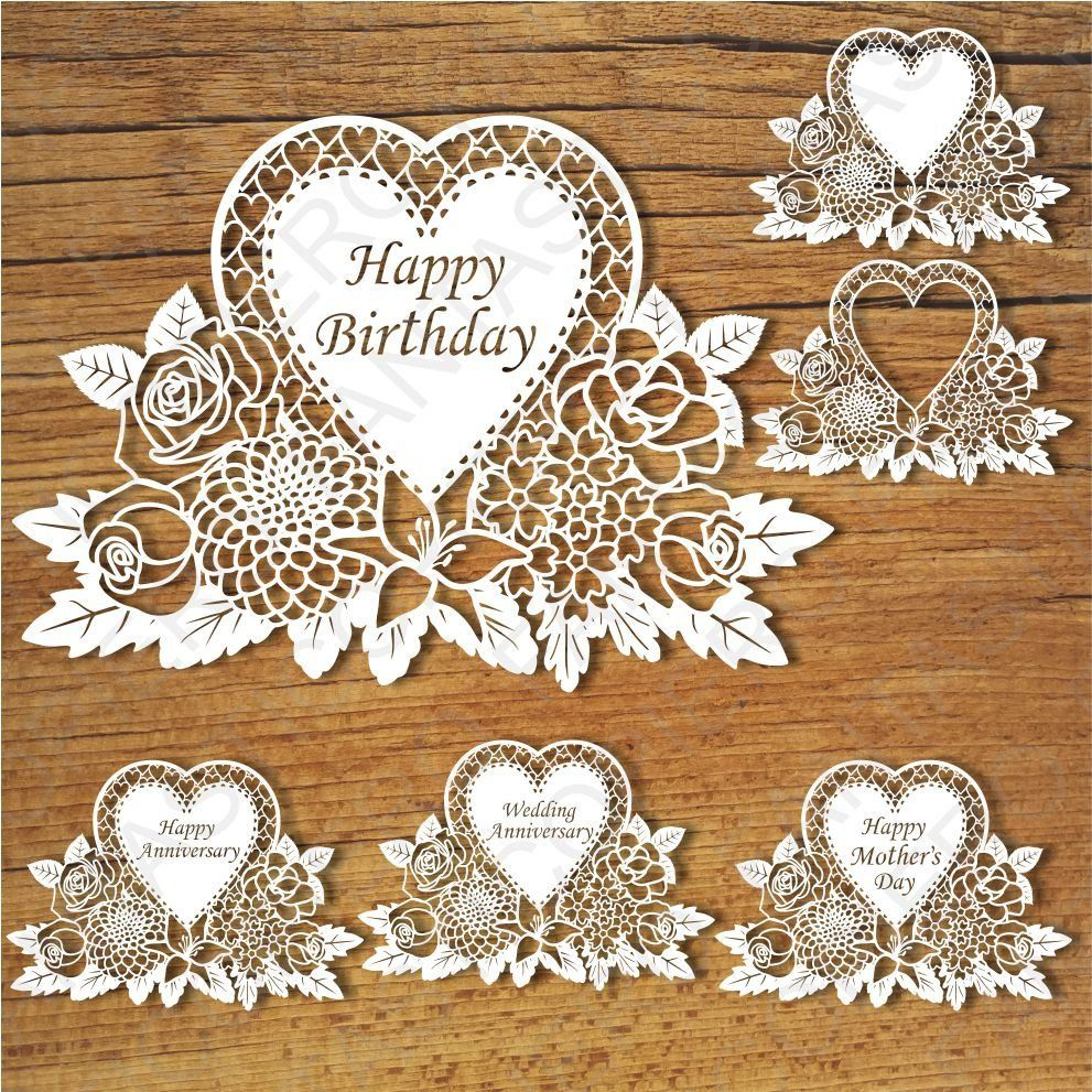 Floral Happy Birthday Wedding Anniversary Happy Mother Day Svg Files For Silhouette Cameo And Cricut Clipart Png Transparent Included In 2021 Free Greeting Cards Happy Mothers Day Cricut
