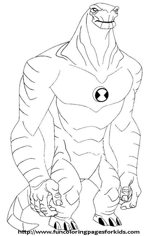 Dessin Ben 10 5 Coloring Pages Printable And Book To Print For Free Find More Online Kids Adults Of