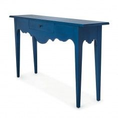 Les Provencales Console Table In French Blue On Backorder Until Early January French Country House Luxury Home Decor Console Table
