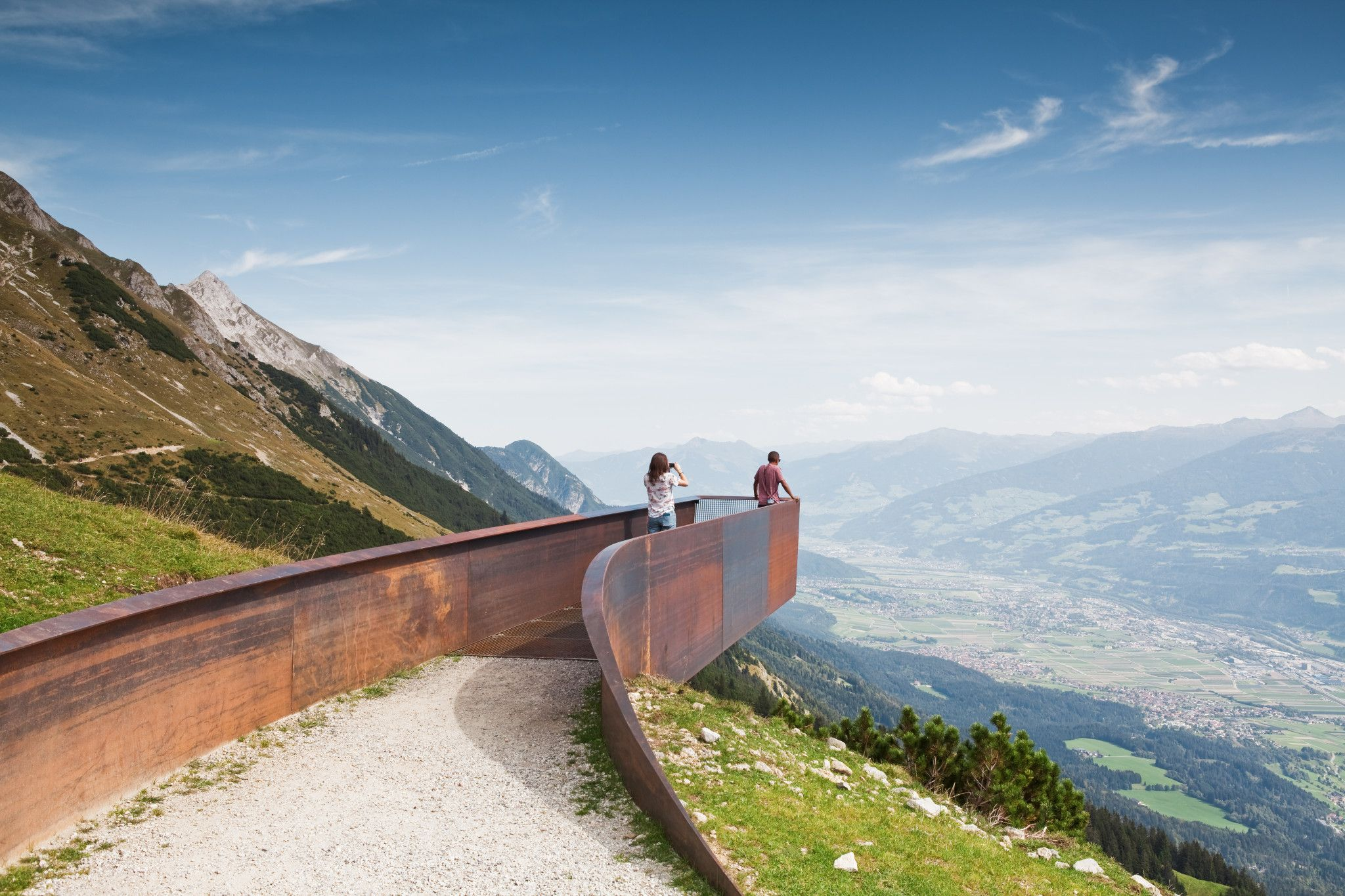 Path Of Perspectives Perspektivenweg Innsbruck Austria Snohetta Innsbruck Perspective Pictures Landscape Architecture