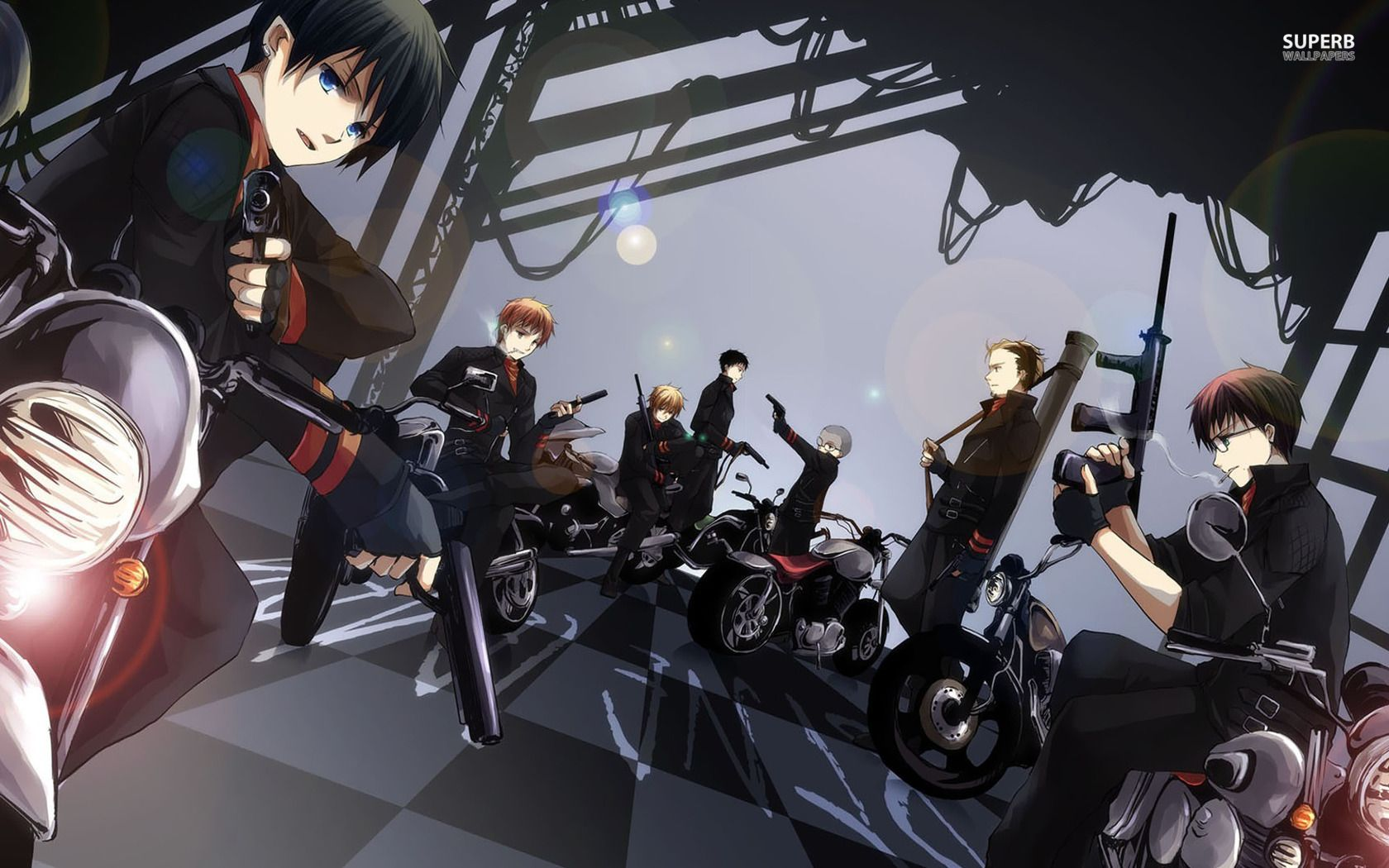 Black Exorcist Anime Ao No Exorcist Wallpaper Anime Wallpapers