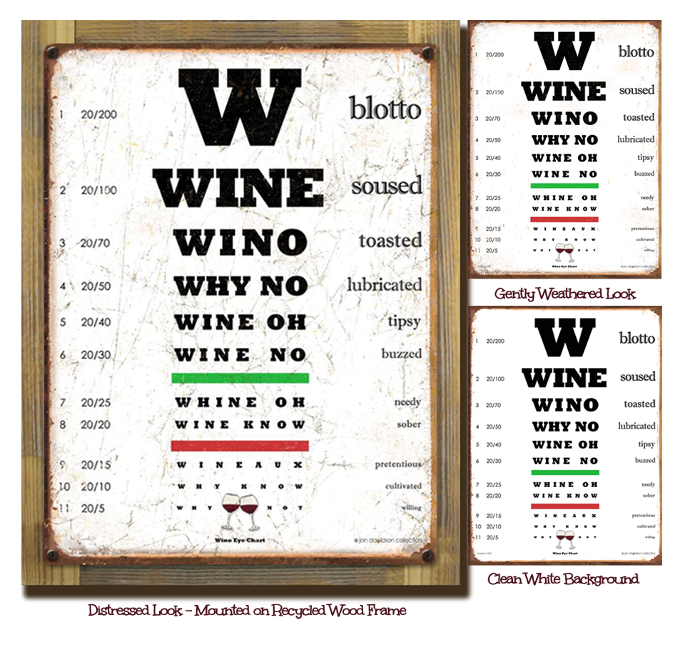 Wino Eye Chart Winehumor Liquorlistcom The Marketplace For Printed Circuit Board Manufactureronline Quoteprinted Adults With Taste Liquorlist