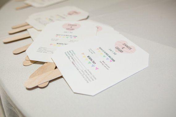 minimalist wedding program google docs template wedding templates