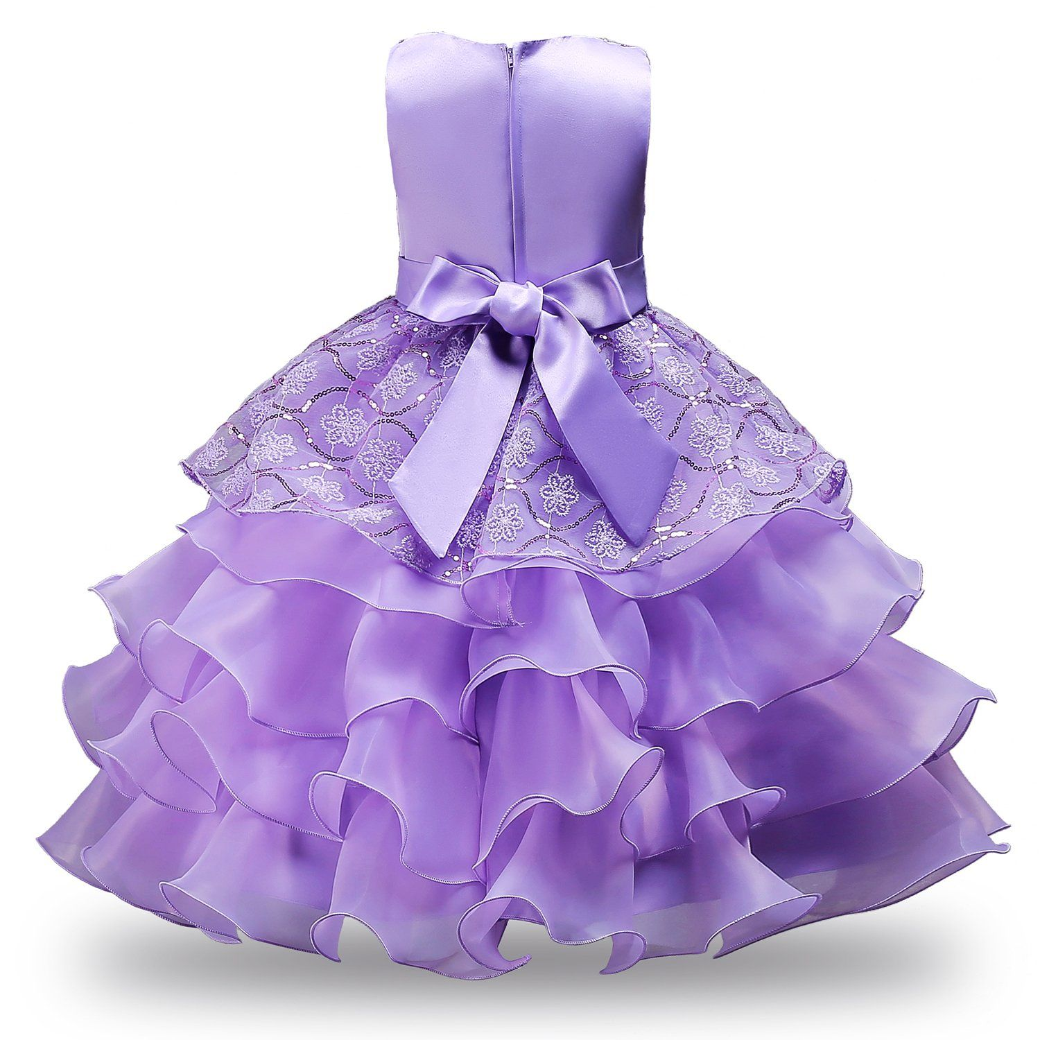 Jerrisapparel Girls Ruffles Embroidered Sequined Pageant Flower Wedding Dress 4t Purple 1 For More Inf Dresses Wedding Dresses Wedding Dresses With Flowers [ 1500 x 1500 Pixel ]