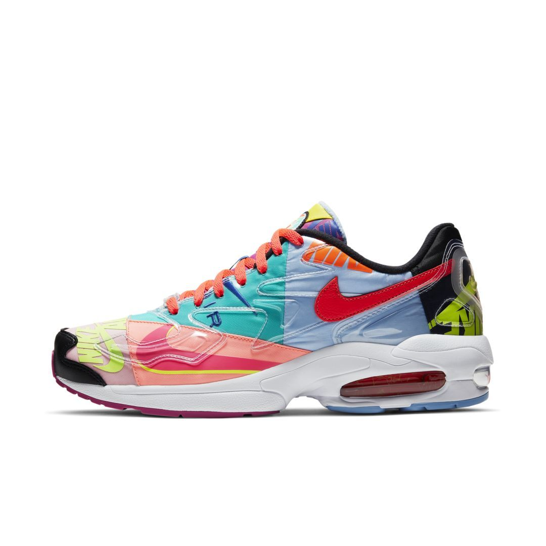 Nike Air Max2 Light QS Men's Shoe Size 9.5 (Black) | Latest
