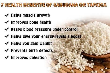 Sago Benifits Health Benefits Improve Health Improve Digestion