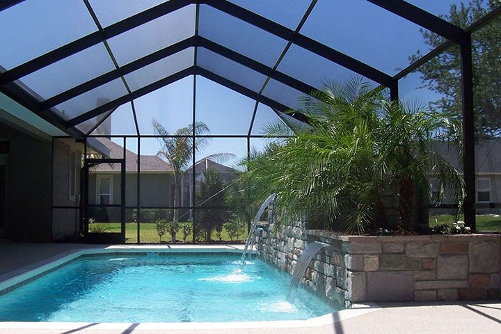 Different Pool Enclosure Colors And Shapes Are A Design Factoe We