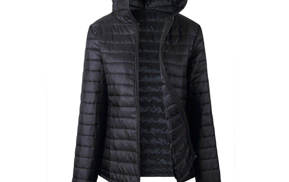 26667a7e8b Best Price Free Ostrich Jacket Women Autumn Winter Hooded Warm Zipper 2018  Black Coats Long Sleeve