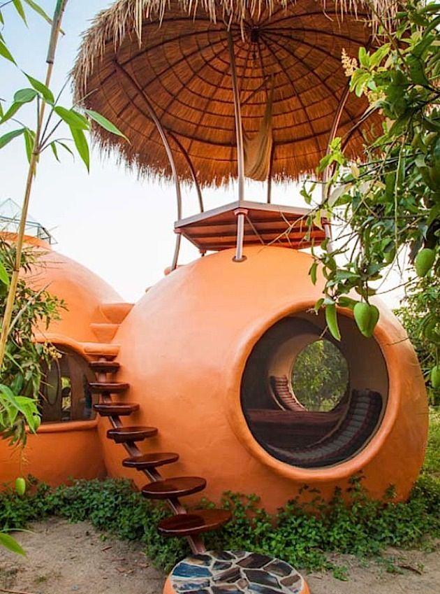 der globetrotter steve areen baut sich ein wundersch nes haus f r dollar in thailand. Black Bedroom Furniture Sets. Home Design Ideas