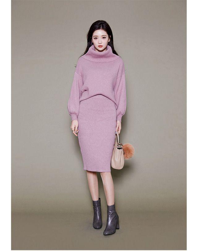 ★2WAYトップス★フェミニンムードニットセットアップ - 《公式》Chuu(チュー)レディースファッション通販!