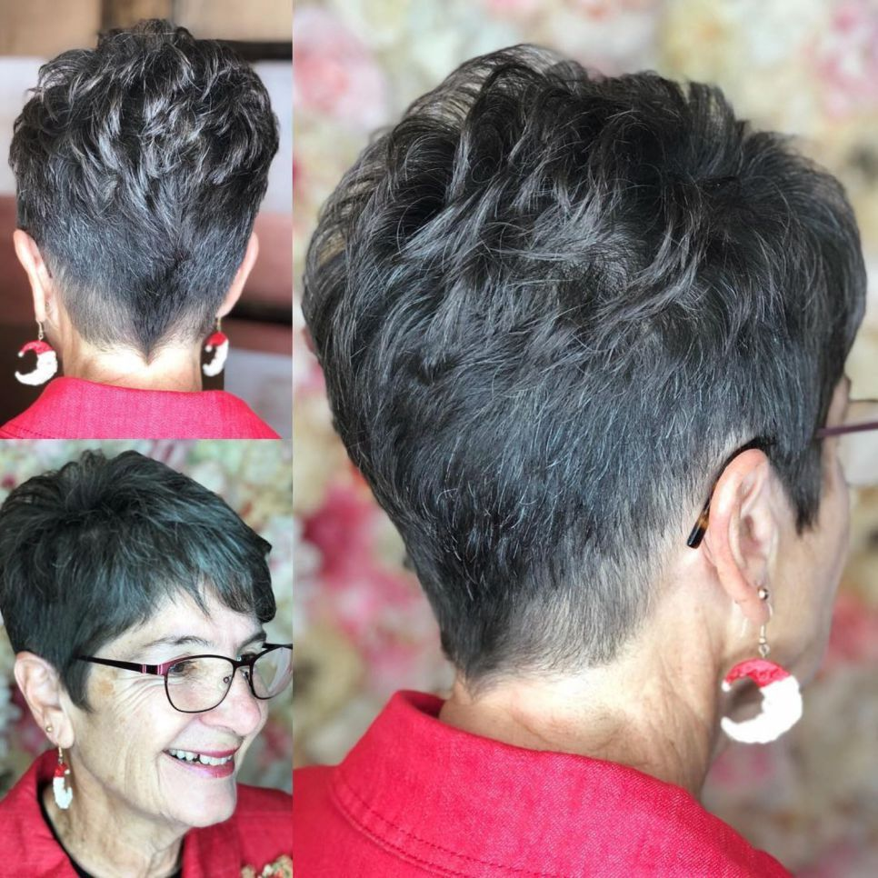 The Best Hairstyles And Haircuts For Women Over 70 Womens Haircuts Short Hair Styles Pixie Short Pixie Haircuts