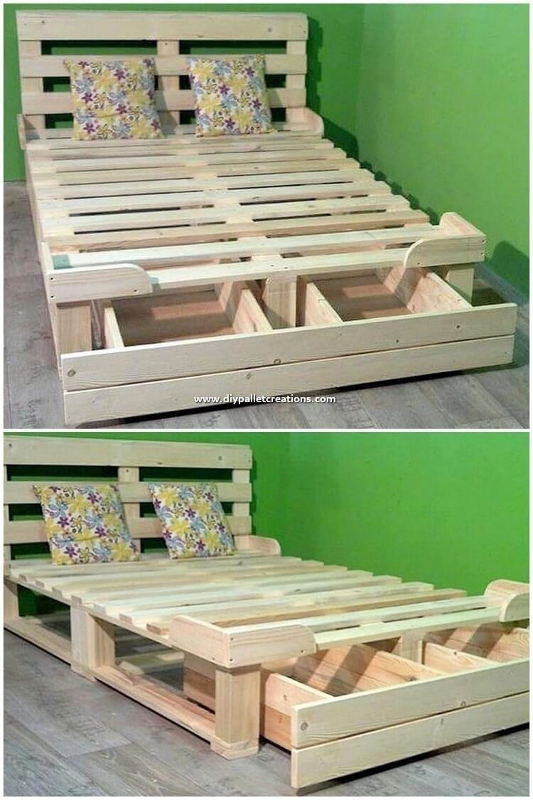 48 Creative Diy Wooden Pallet Ideas That Trendy Now In 2020 Wood