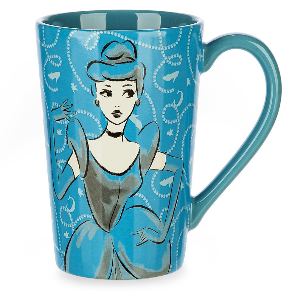 Disney store Cindarella mug http://m.disneystore.co.uk/cinderella-sketch-mug/mp/90290/1500054/