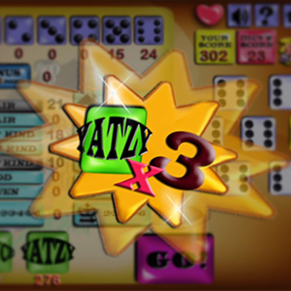 Wow! I got Yatzy score x3!!! How cool is that?! yatzy
