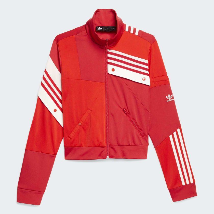 Deconstructed Track Jacket Red DZ7501   Sudaderas, Ropa