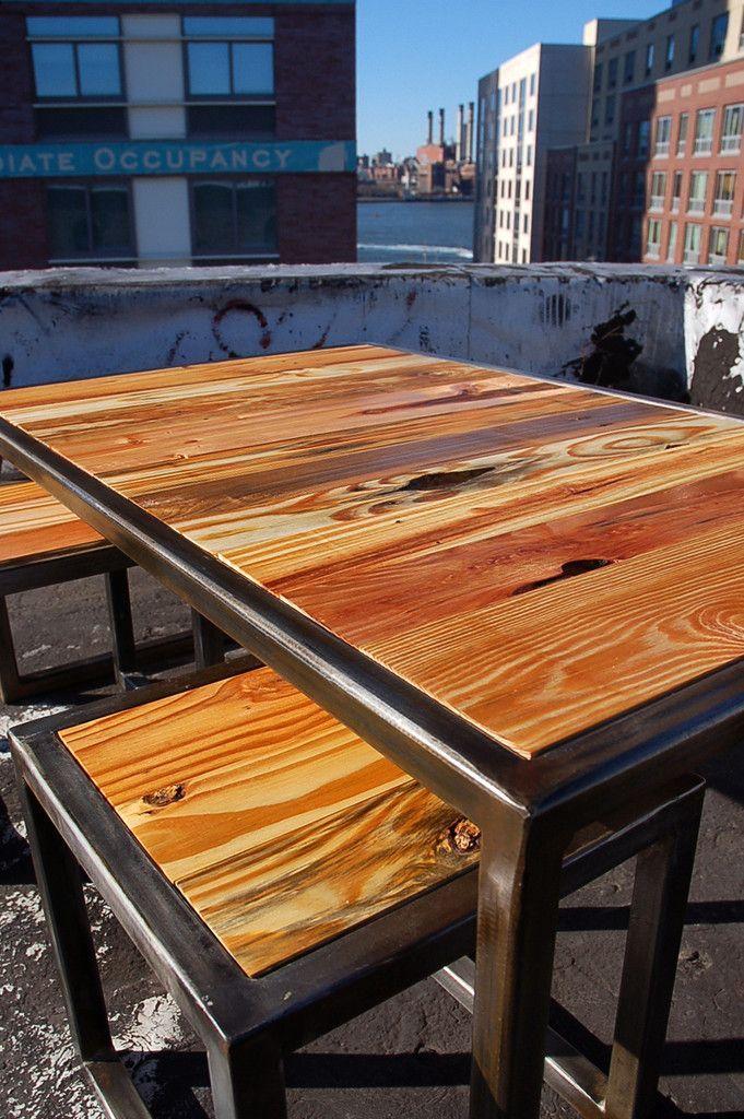 Pin de guillermo acosta en muebles industriales mesas de for Muebles industriales metal baratos